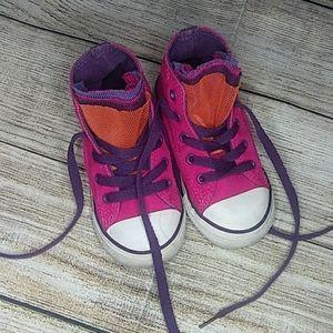 Toddler high top converse size 7